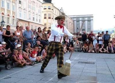 Vienna capitale della cultura e Pflasterspektakel