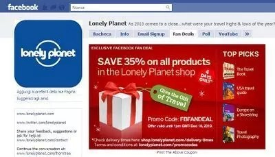 Lonely Planet mi fa il regalo di Natale – 35% di sconto