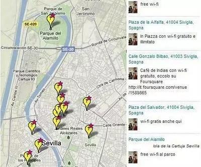 Wi-fi a Siviglia: dove trovarla