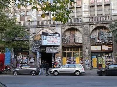 Tacheles, la casa occupata di Berlino