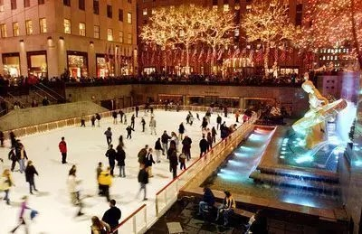 Dove pattinare sul ghiaccio a New York