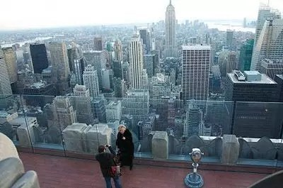 Top of the Rock a New York, la visita