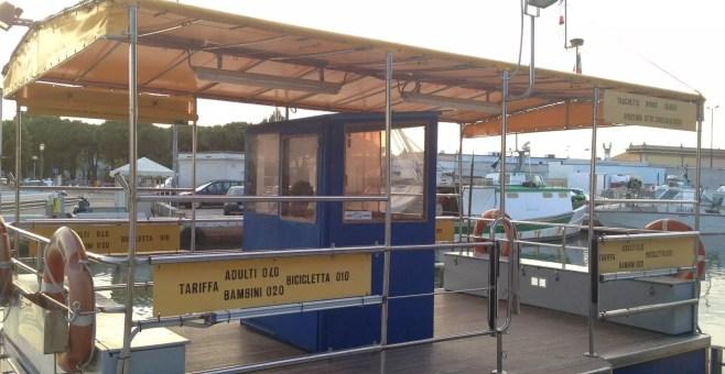 Cesenatico, attraversare il Porto Canale in 3 minuti