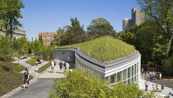 Inaugurato il Visitor Center del Brooklyn Botanic Garden a New York