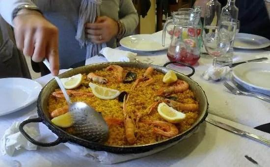 La vera paella a Valencia la trovate da Neco