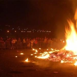 Notte Nera a Livigno il 15 agosto: candele e falò