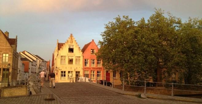 Vacanza a Bruges, pro e contro
