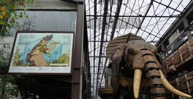 Elefanti giganti e mostri marini: le Machines de l'Ile a Nantes
