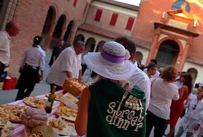Street Dinner a Ferrara: evento gastronomico itinerante a settembre