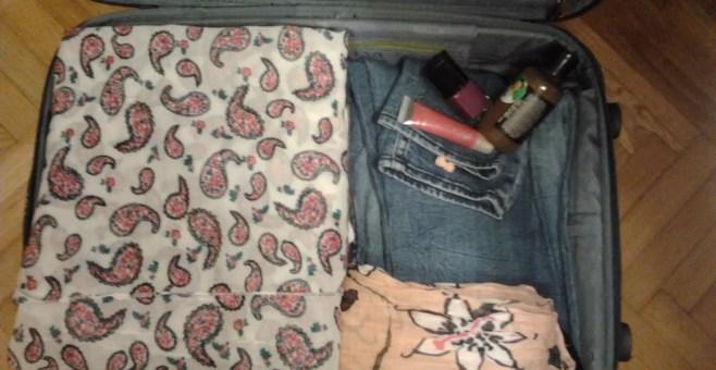 La valigia da viaggio fashion di Stefania