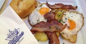 Colazione salata a Monaco a 7€, da Rubenbauer