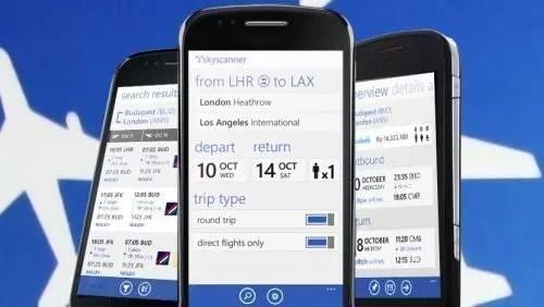 Skyscanner, nuova app Windows 8 per la comparazione voli
