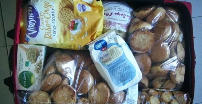 La valigia di Barcellona di Ale, smerci alimentari
