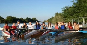 Arquà Polesine come andare in canoa sul Po