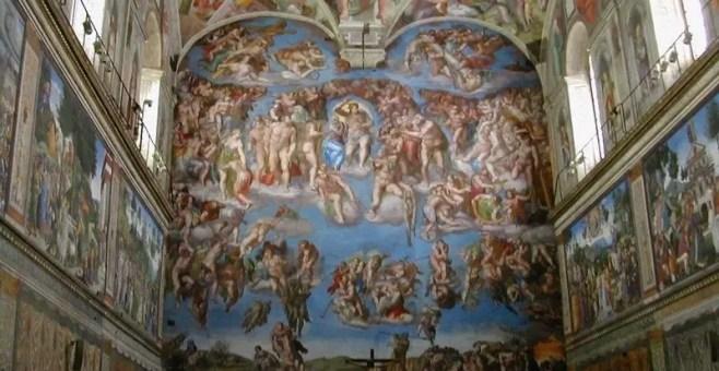 A Roma per i 500 anni della Cappella Sistina
