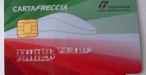 Buono sconto di 20€ con Trenitalia e CartaFreccia