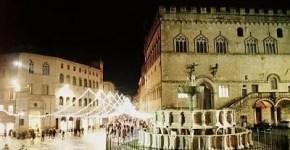 Mercatini di Natale a Perugia tra piste di ghiaccio e ruota panoramica