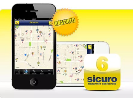 App 6Sicuro, l'app del risparmio carburante