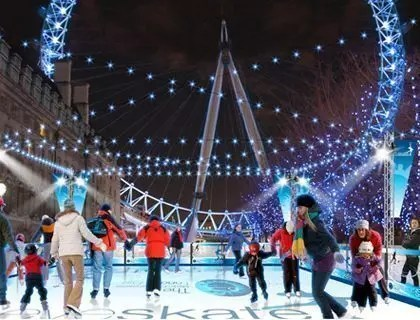 Eyeskate, pattinare sul ghiaccio a Londra a Natale con il 10% di sconto