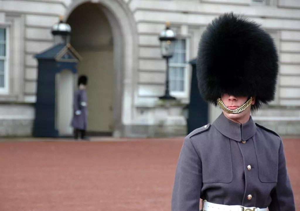Londra, cambio della guardia