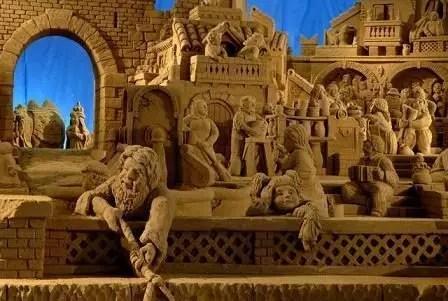 Presepi di sabbia a Rimini