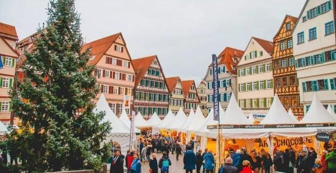 Natale a Tubinga, in Germania, con dolci tutti italiani