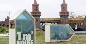 1€ per 1 notte, dormi a Berlino low cost con 1M2 House