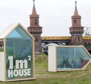 1€ per 1 notte, dormi a Berlino low cost con 1M2 House