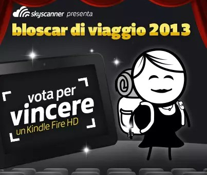 Vota Viaggi Low Cost ai BlogOscar e vinci un Kindle