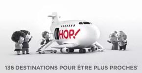 Voli low cost Hop!, in partenza anche dall'Italia