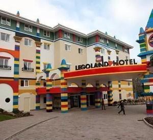 Hotel Lego in California, dormire tra i mattoncini