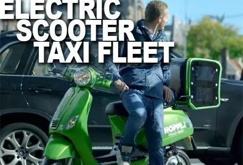 Hopper, in Olanda vanno i taxi-scooter elettrici