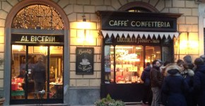 Al Bicerin a Torino, locale storico della città