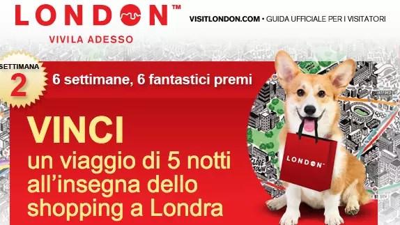 Vinci un viaggio a Londra con VisitLondon