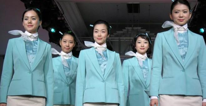 Korean Air, corso di make up a bordo della compagnia coreana