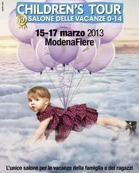 Children's Tour, a Modena il 10° salone delle vacanze 0-14