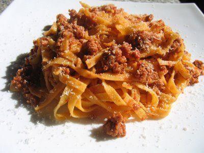 fettuccine al ragù roma