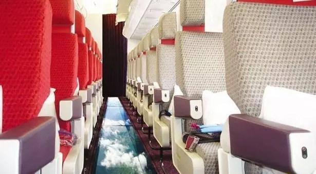 Virgin, un aereo con vista nel vuoto
