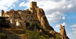 Craco la città fantasma in Basilicata