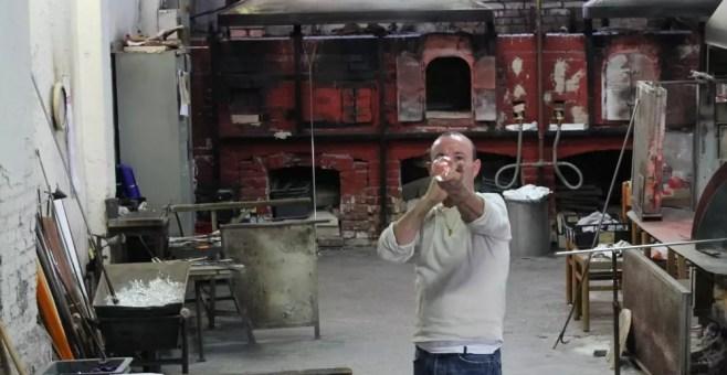 Lavorazione del vetro a Murano