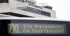 Come arrivare al centro di Berlino dall'Aeroporto di Tegel