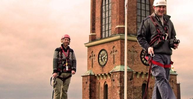 Camminare sui tetti di Stoccolma, tour