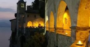 Lago Maggiore: l'Eremo di Santa Caterina del Sasso