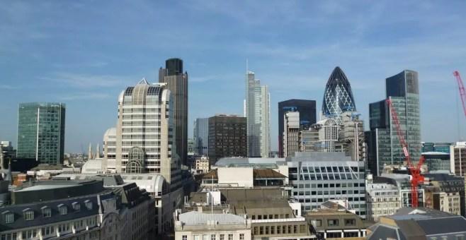 Quattro passi tra i grattacieli di Londra