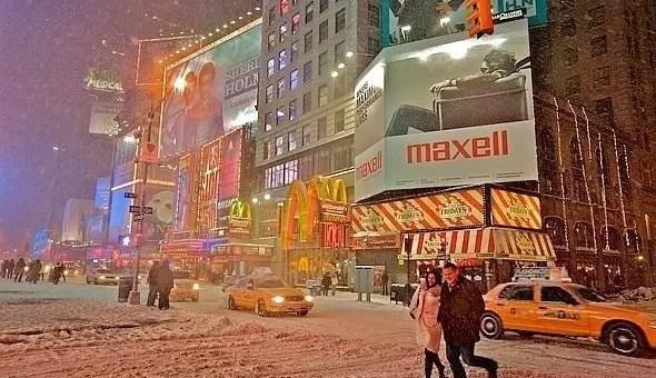 Voli per New York a Natale