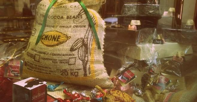 Silvio Bessone a Torino, una pausa al cioccolato