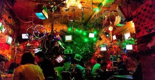 Ruin pub a Budapest: Szimpla Kert