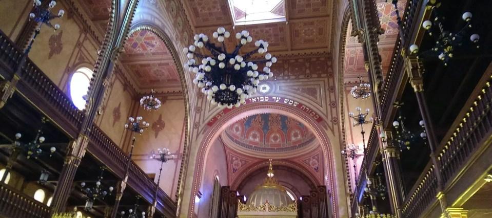 Sinagoga di Budapest e quartiere ebraico
