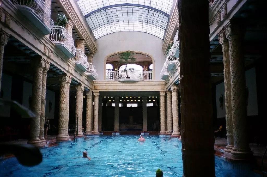 Budapest terme: bagni Gellert