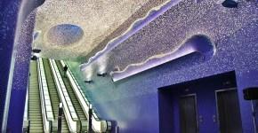 Metro Toledo a Napoli la più bella d'Europa